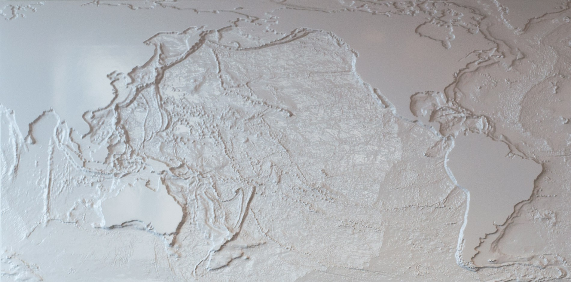 Creating a giant 3D bathymetric map, out of 2D data, for Matson