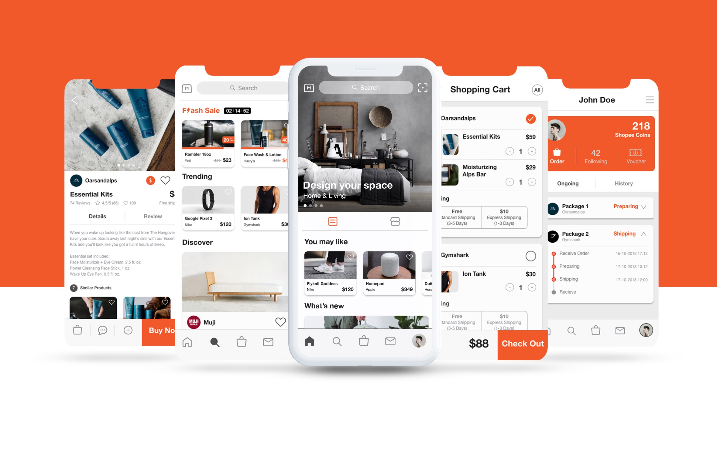 2a89f8b5a Redesigning an e-commerce app for Shopee — a UX case study