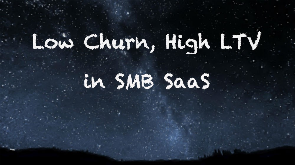 How we achieved a 5% churn rate in SMB SaaS - Nothing Ventured