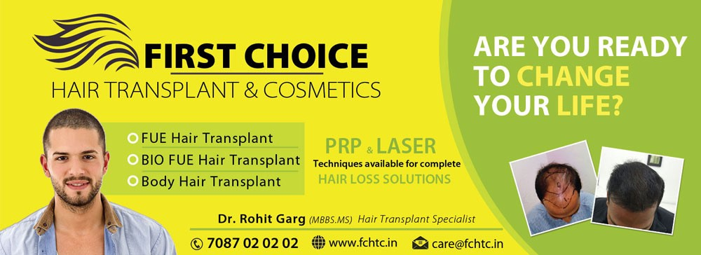 First Choice Hair Transplant & Cosmetics Clinic   - Rohit