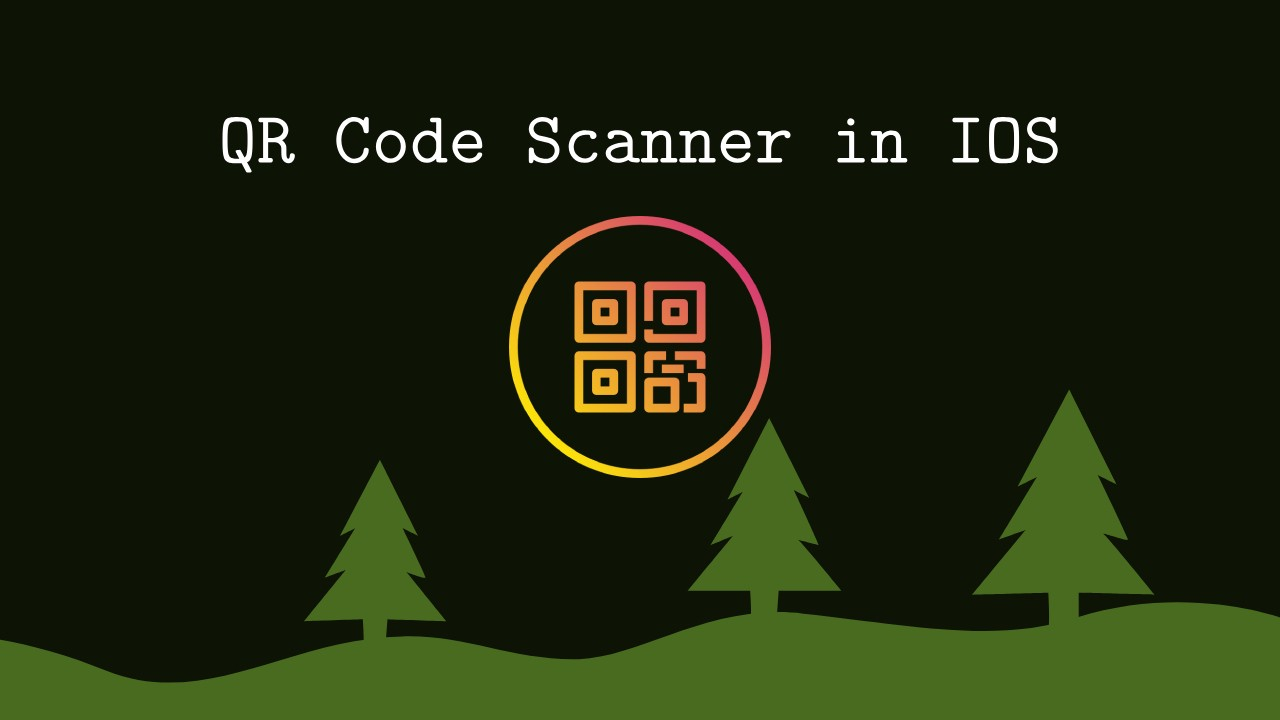 How to create a simple QRCode / barcode scanner app in iOS swift?