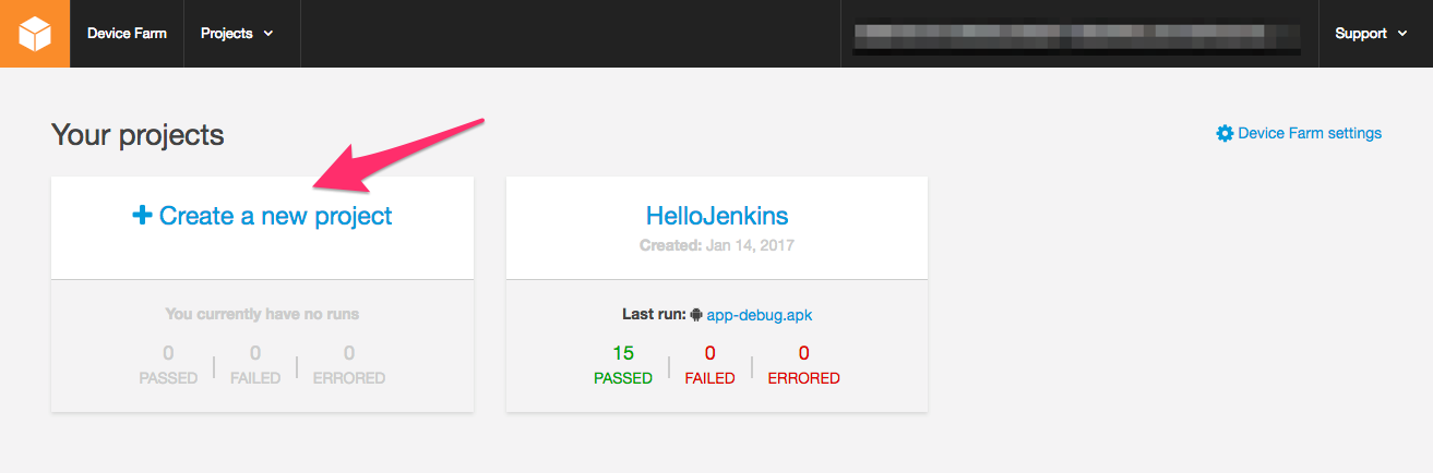 Running Android Tests on cloud devices using a Jenkins CI