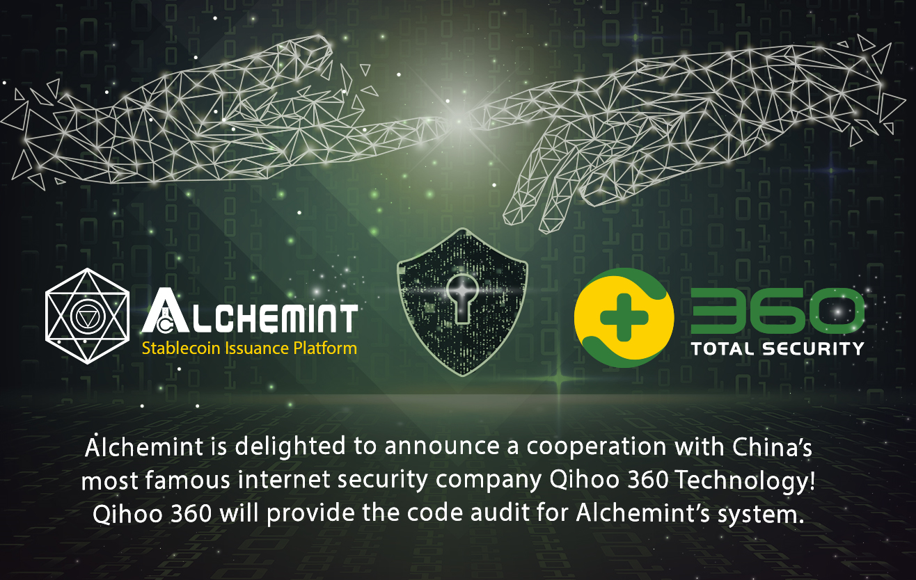 Alchemint cooperation with Qihoo 360 for security | by Alchemint | Medium