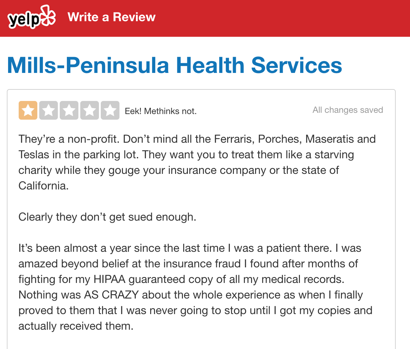 Too Long for Yelp, too Important to not share — my review of