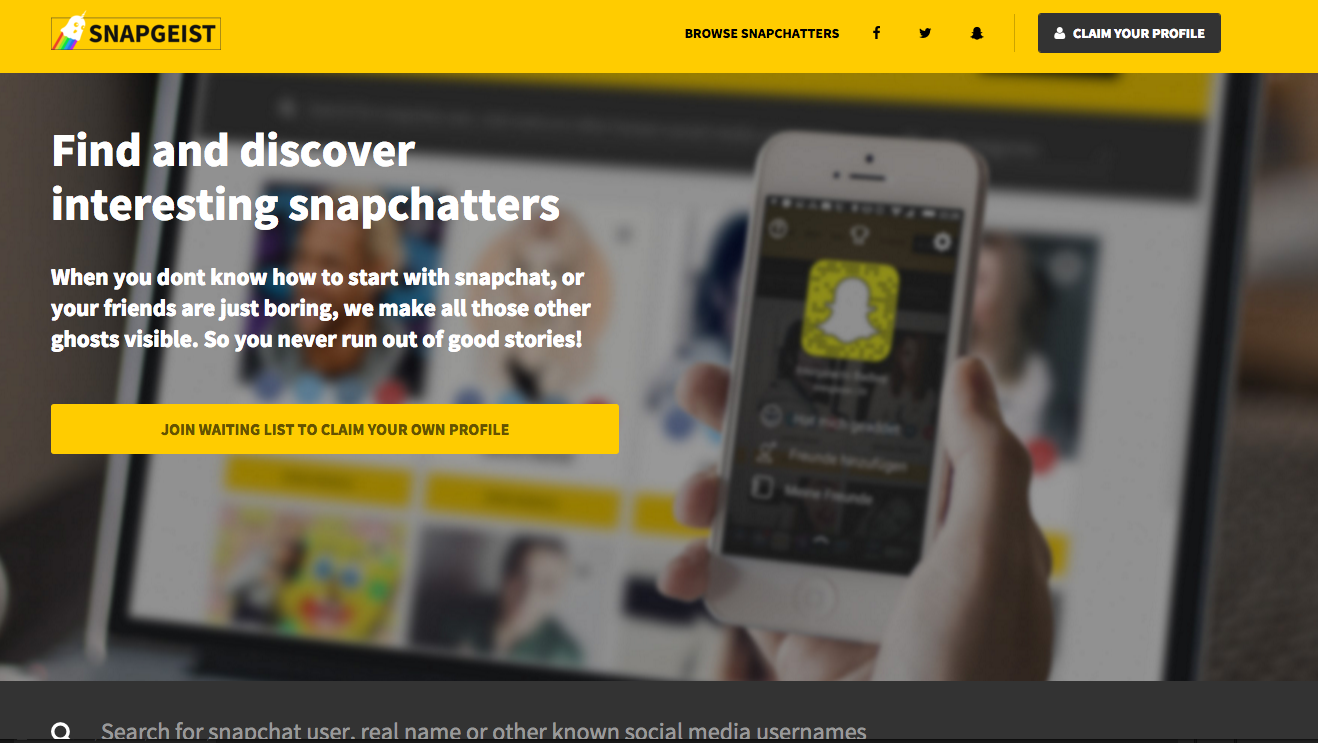 We solved the major problem of Snapchat - Philipp Steuer