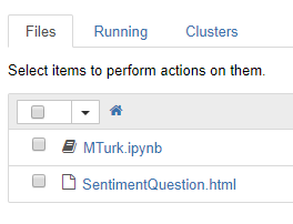 Tutorial: MTurk using Python in Jupyter Notebook - Happenings at MTurk
