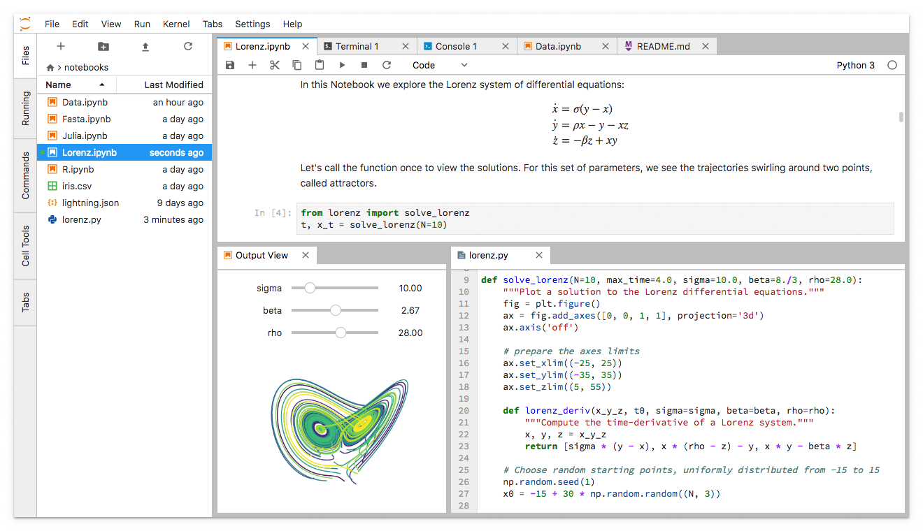 JupyterLab is Ready for Users - Jupyter Blog