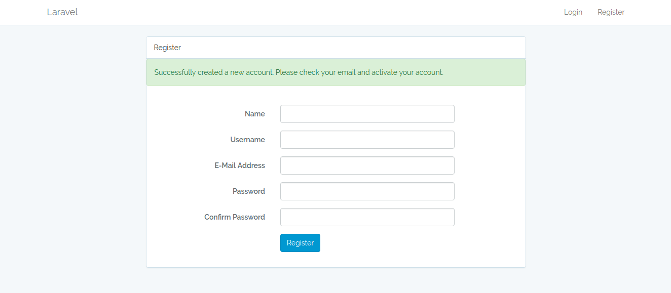 Laravel 5 6 — Customizing the default Auth (Part 1