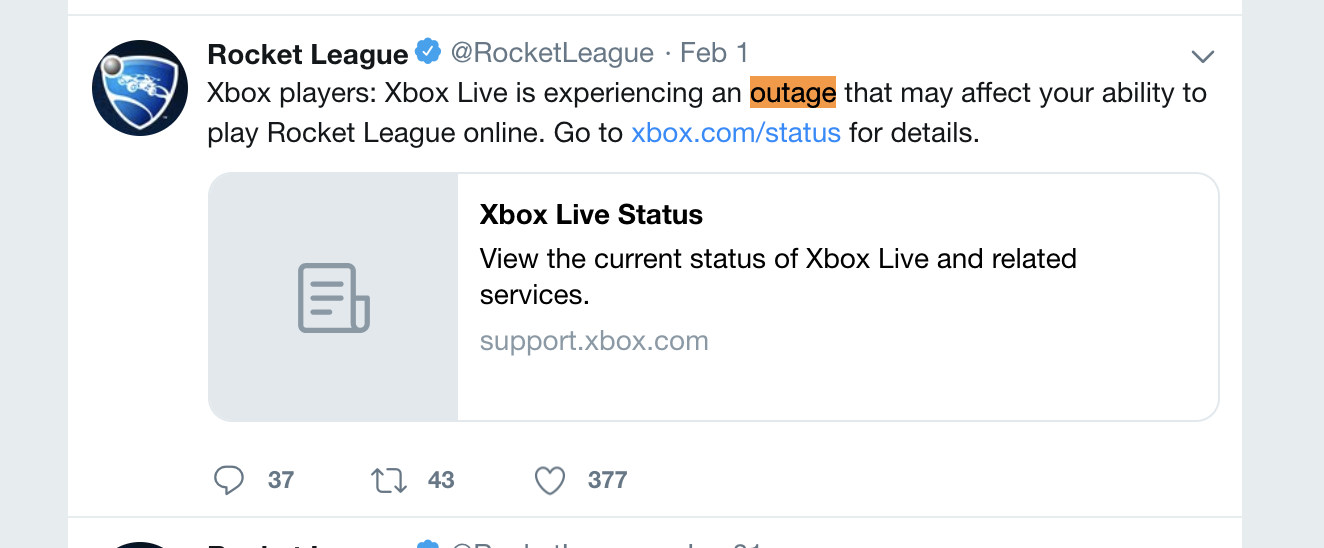 Tragedy for Xbox Rainbow Six & Rocket League - Montgomery