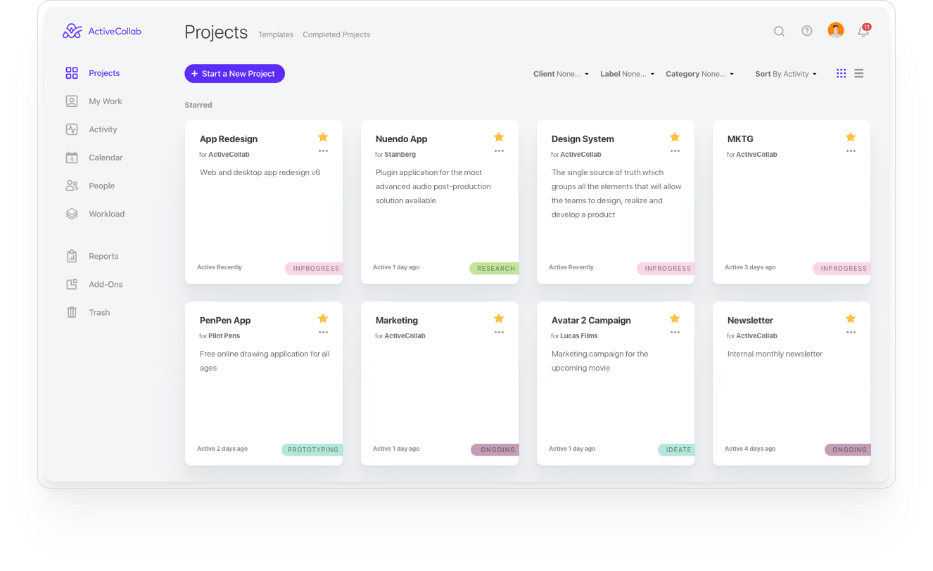 Activecollab activecollab redesign deconstruction - ux planet