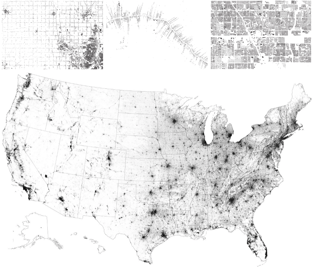 18 maps that inspired us this year - Points of interest
