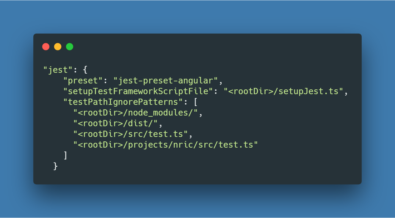 How I do configure Jest to test my Angular 8 Project
