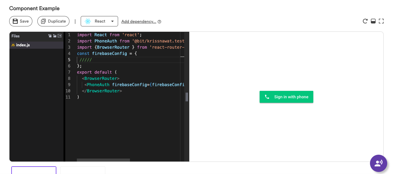 Build a Mobile Phone Authentication Component with React and
