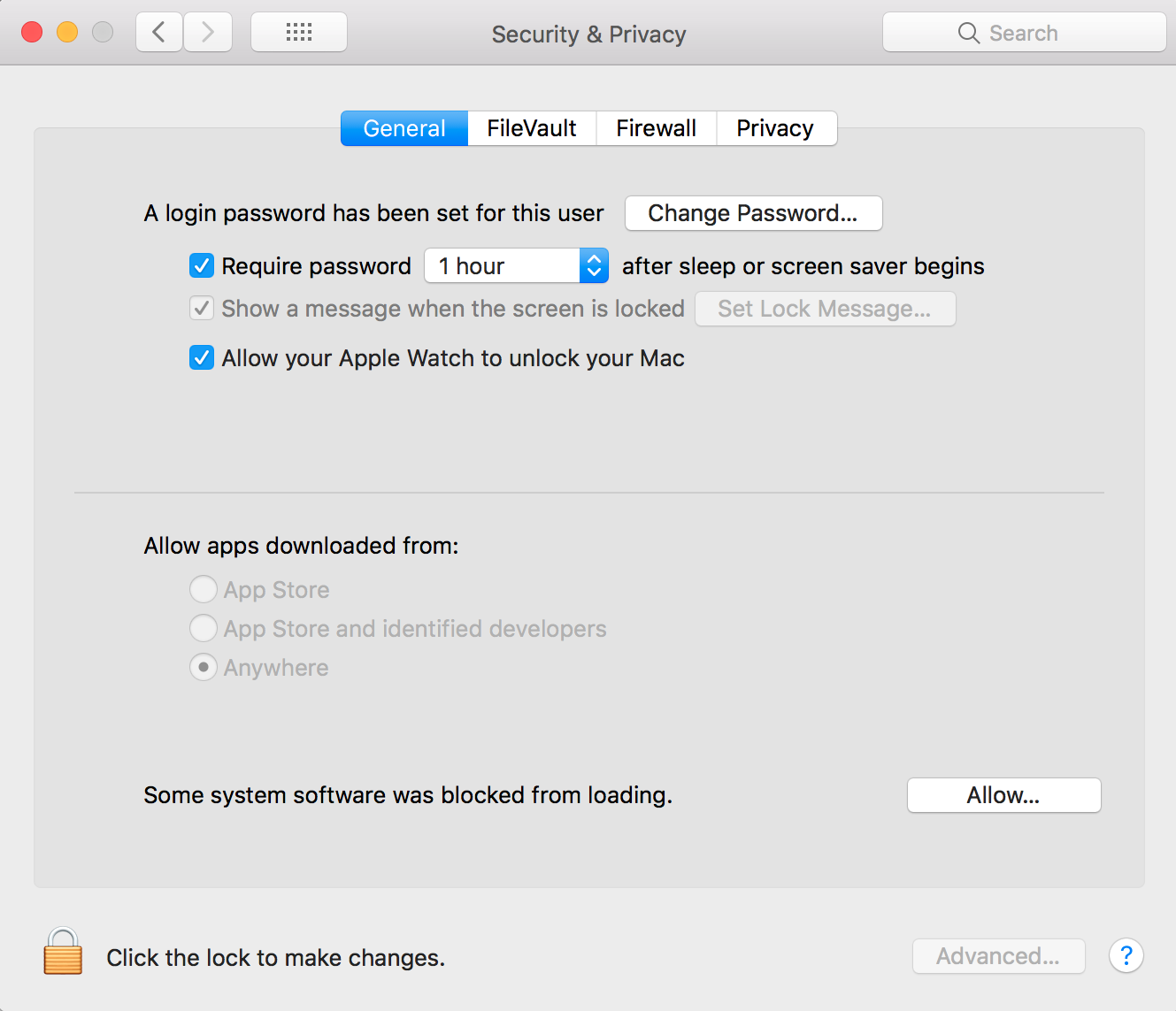 Fix some software was blocked from loading on OS X: High Sierra