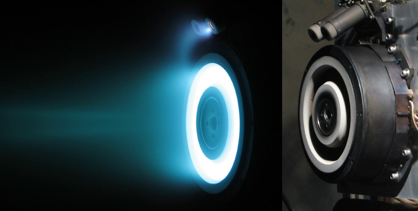 How do the Electric Thrusters on the Psyche Spacecraft Work?