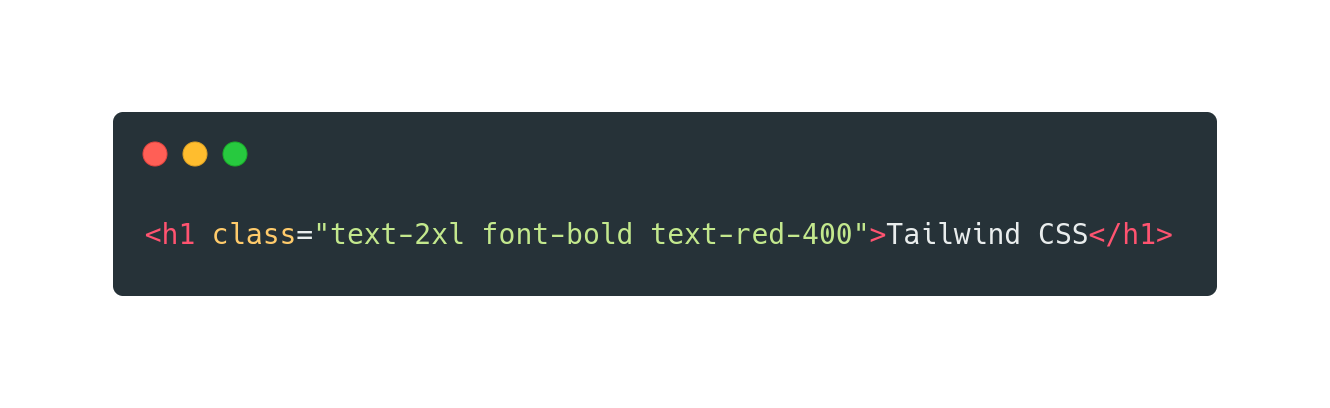 Using Tailwind CSS to style a HTML header