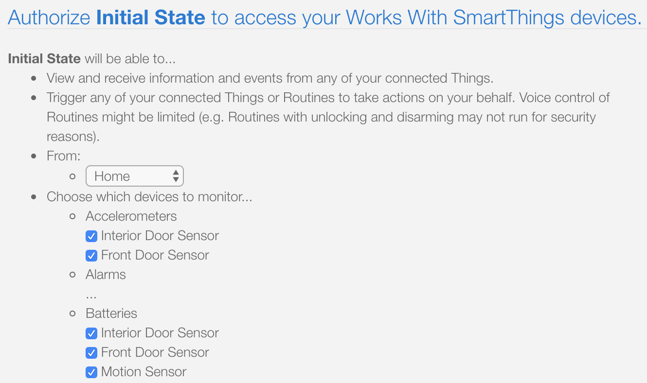 Tutorial: SmartThings, meet Initial State - Initial State