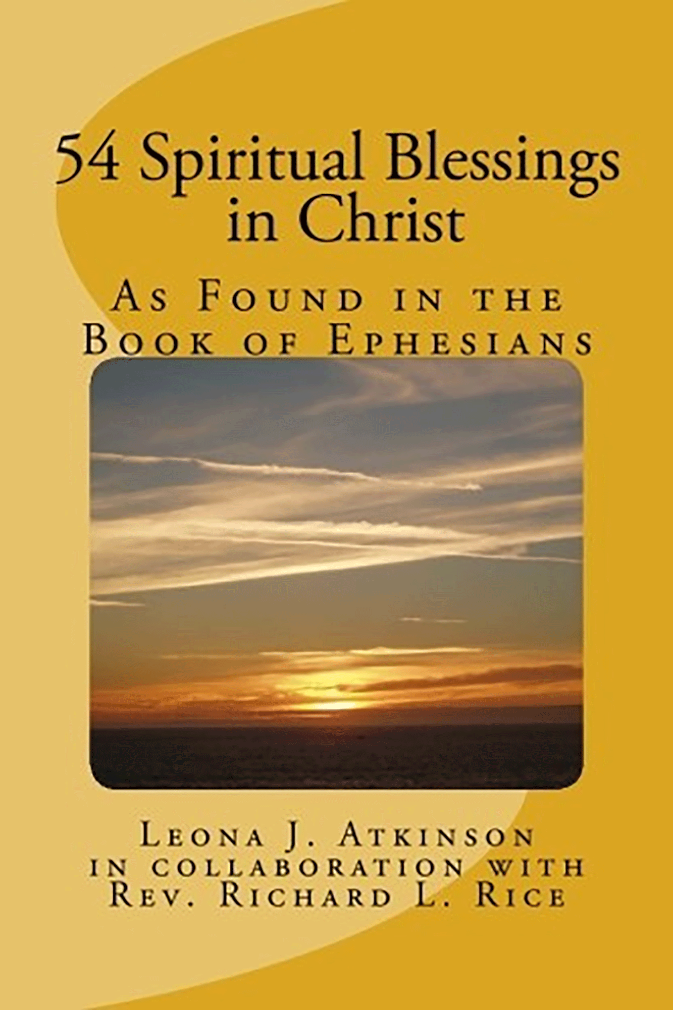"""54 Spiritual Blessings in Christ"" book cover"
