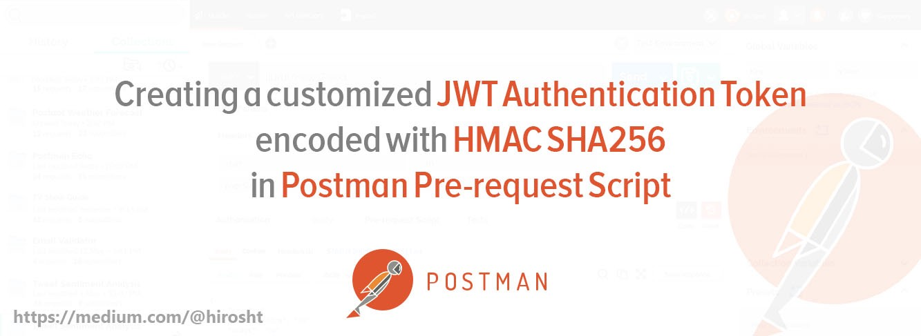 Customized JWT encoded with HMAC_SHA256 / HS256 - Hirosh