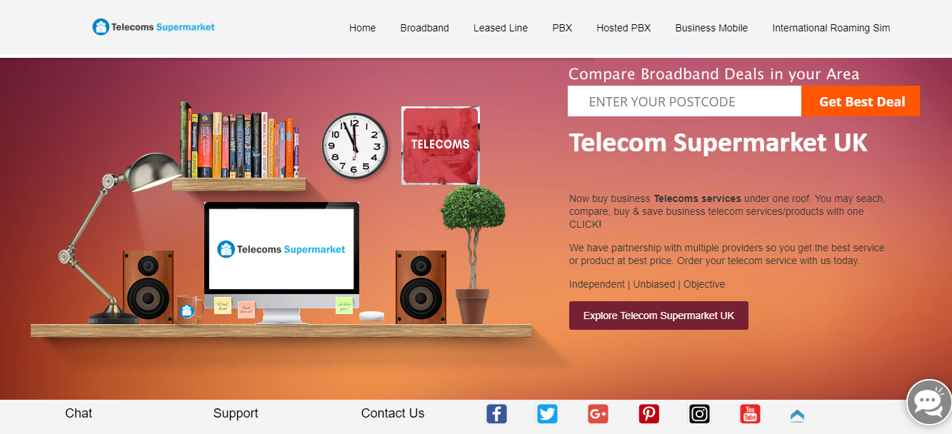 Compare Broadband Deals To Avail The Benefits By Telecoms Supermarket Uk Medium