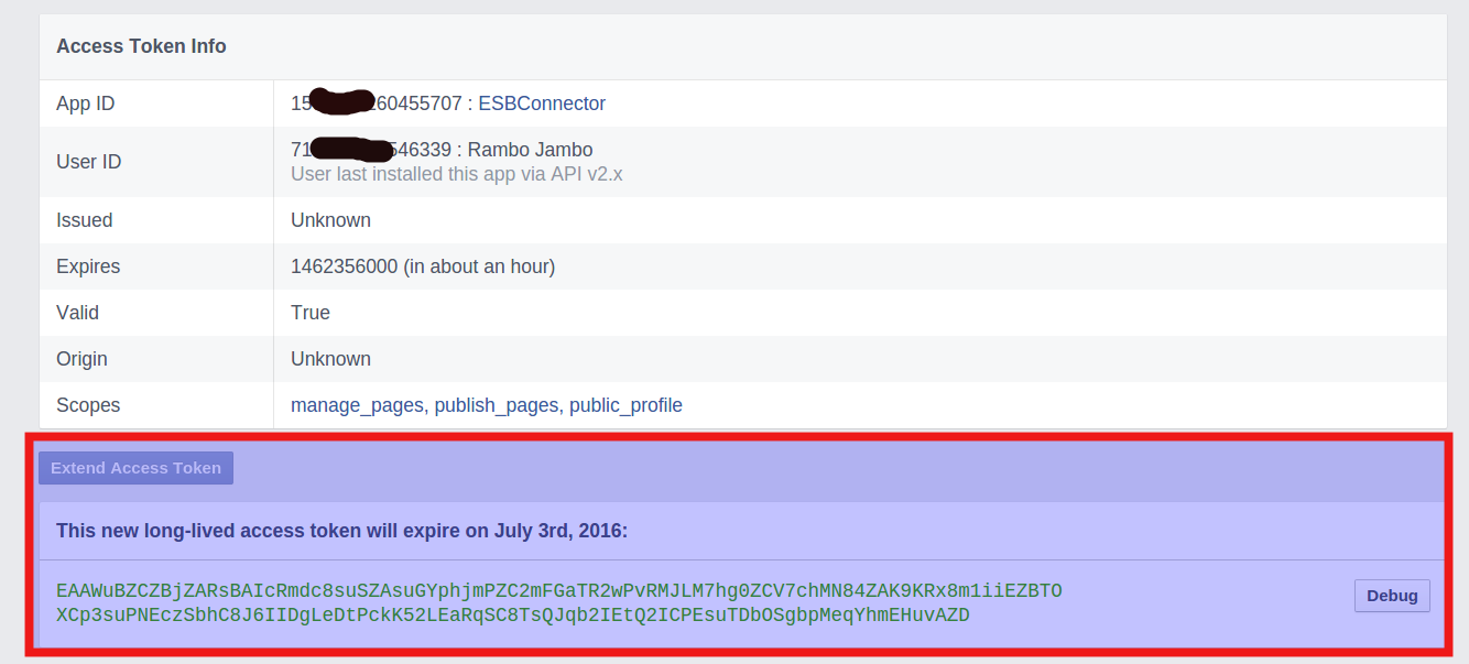 How to create never expires Access Token for Facebook Page