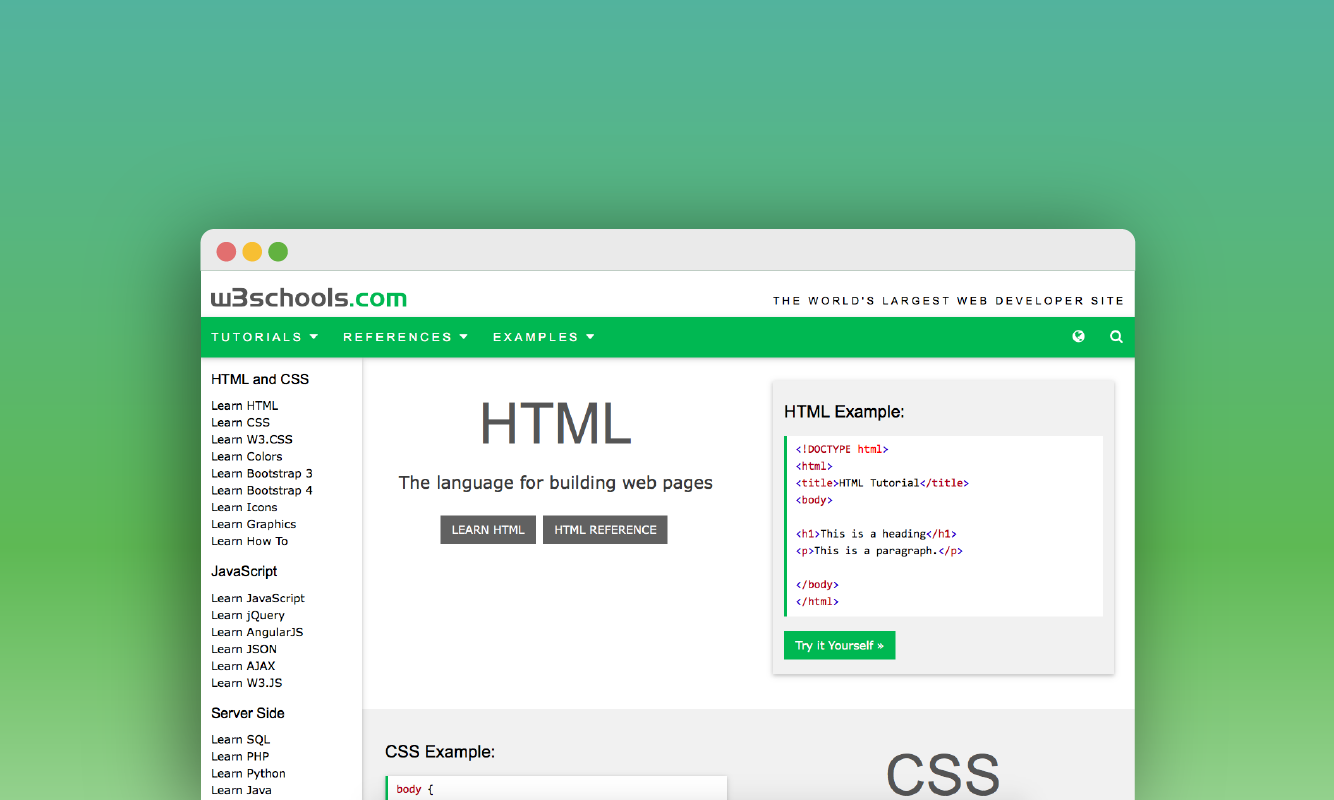 Design Patterns And Task Flows In W3schools By Jennifer Jhang Prototypr