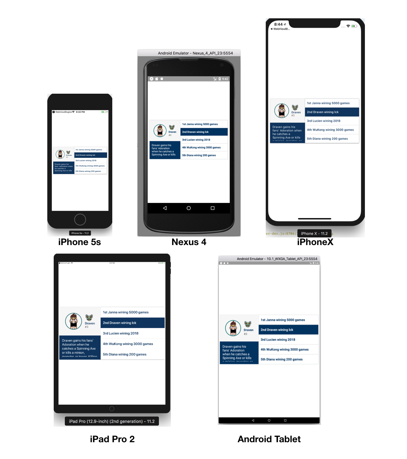 7 Tips to Develop React Native UIs For All Screen Sizes