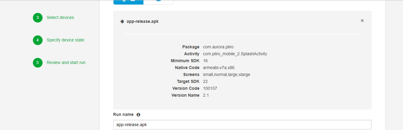 Running Automated Tests on AWS Device Farm in Custom Environment