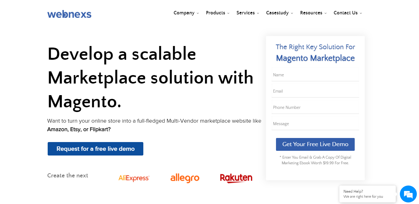 1. Magento 2 Marketplace Extension by Webnexs