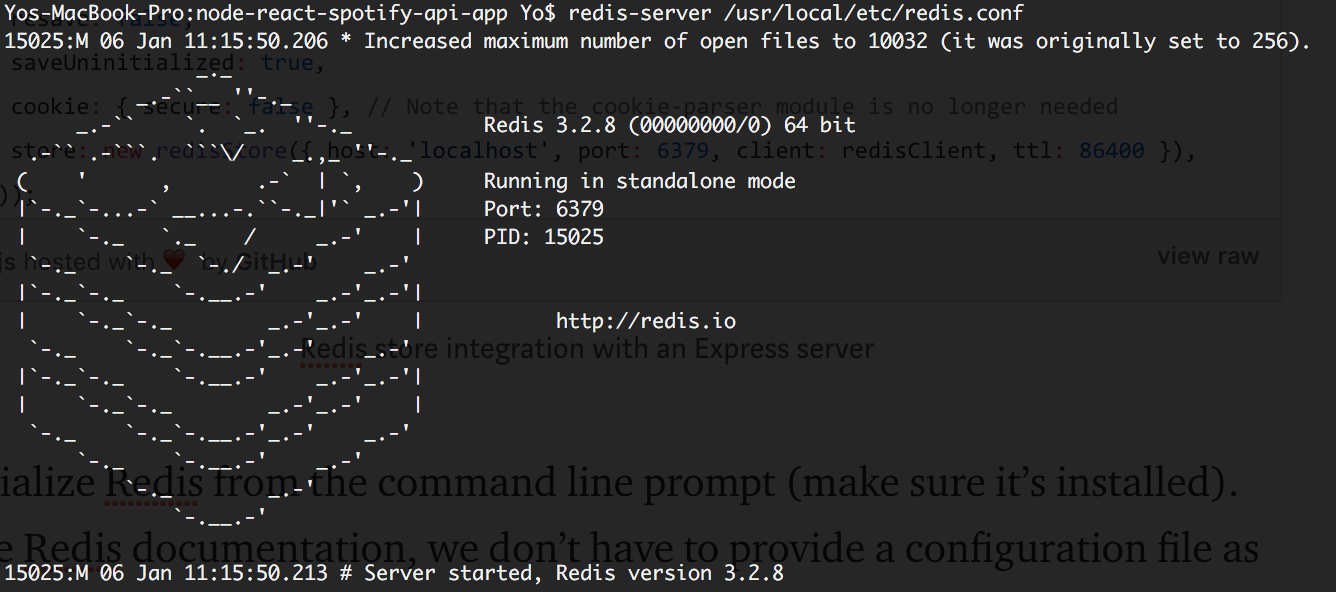 Managing Node js - Express Sessions with Redis - mattholland