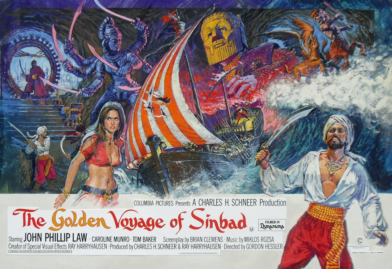 The Golden Voyage of Sinbad' or — A Winged Kiss ? - Colin Edwards ...