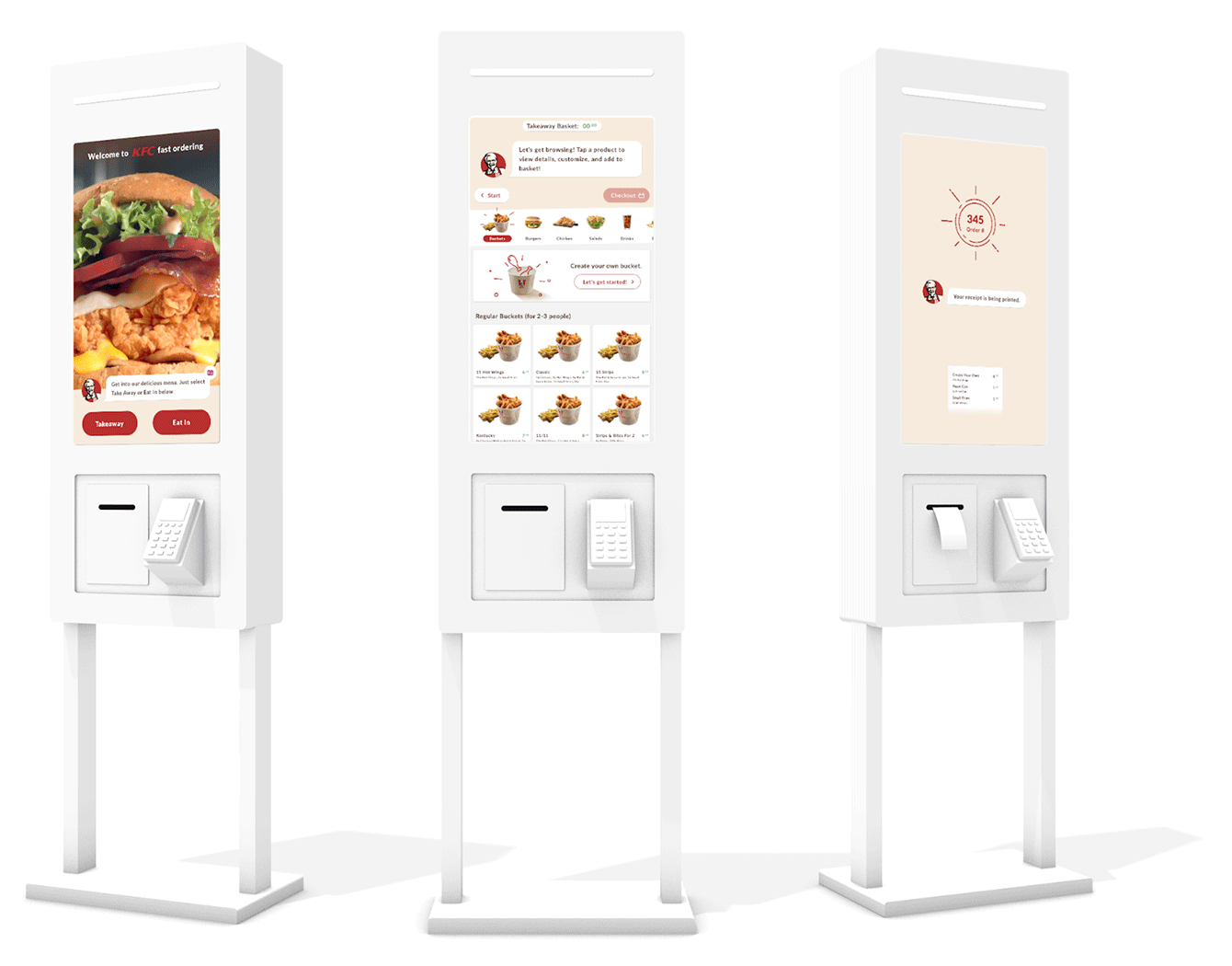 process flow diagram of kfc how to build a fast food restaurant self service ordering kiosk  restaurant self service ordering kiosk