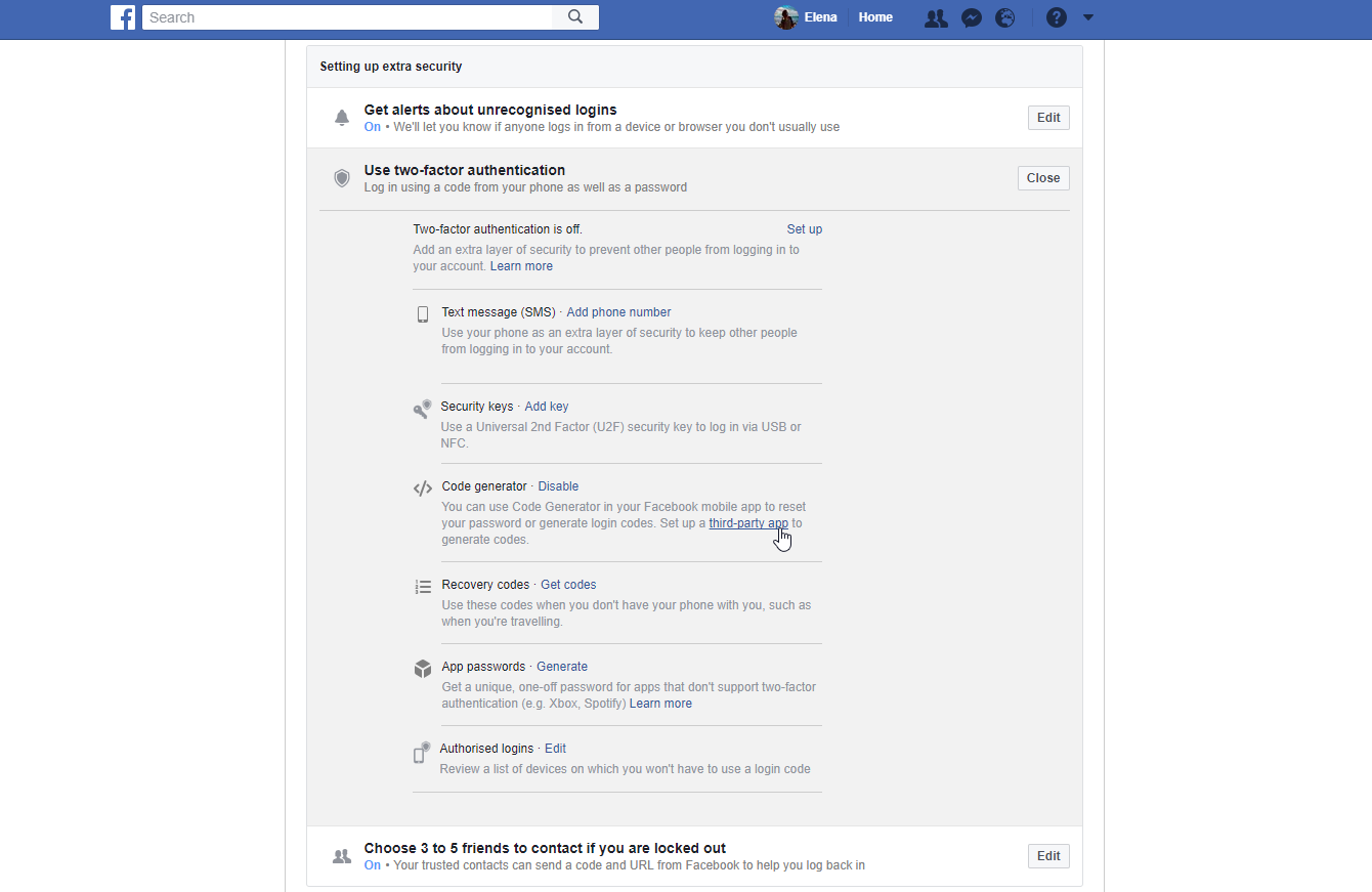 How To Add Two Factor Authentication (2FA) To Facebook