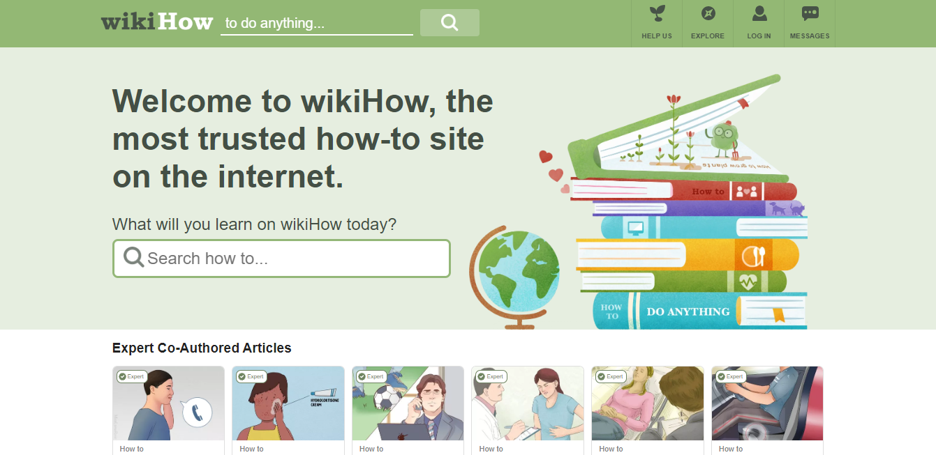 wikiHow Website
