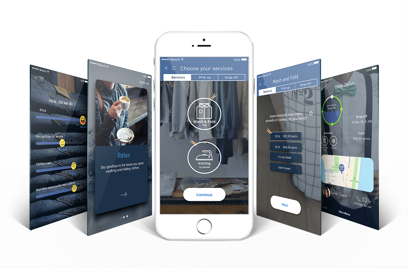 Washi,a laundry app that will make your life easier