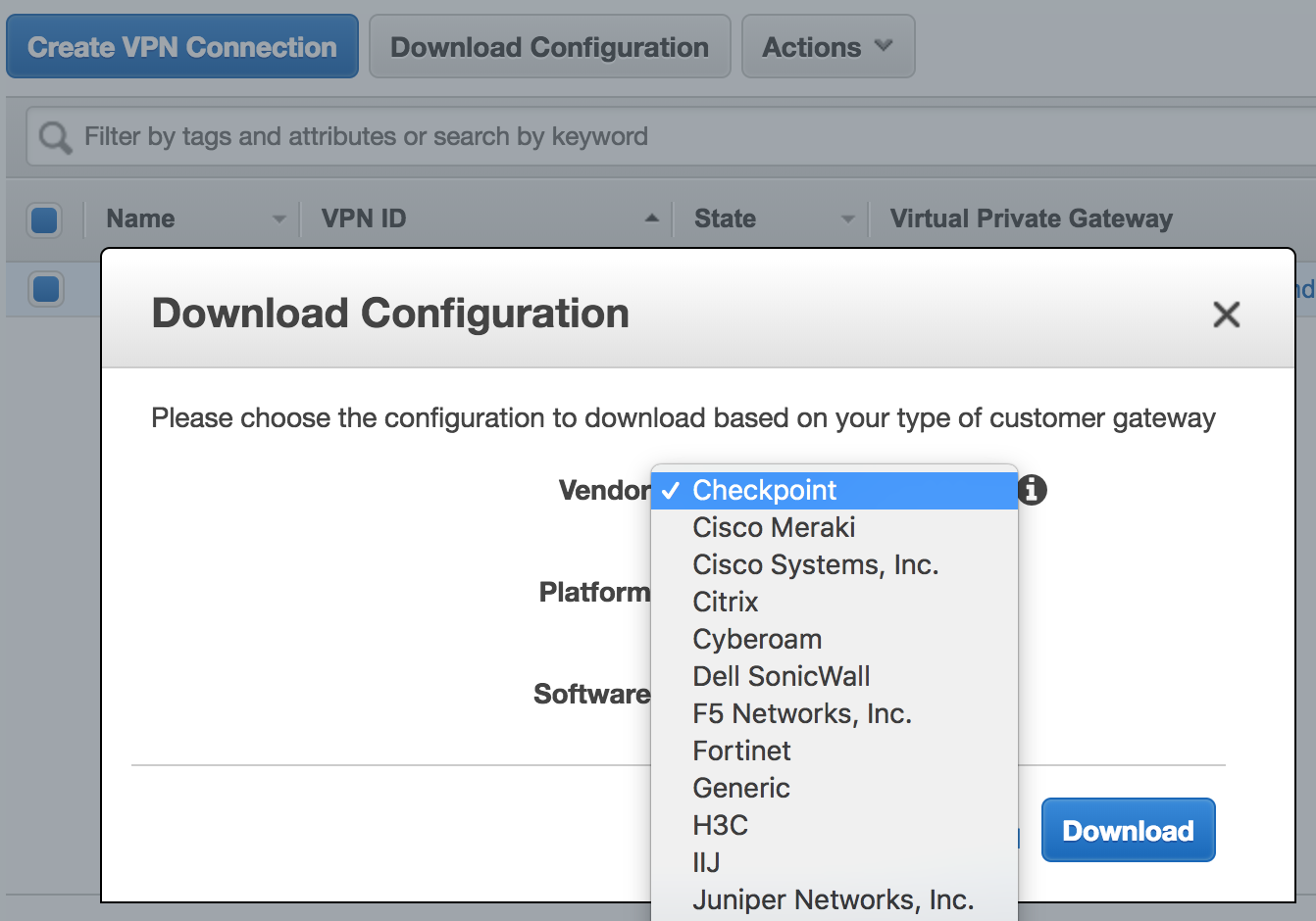 Connecting an AWS VPC to your VPN — From the Cloud to the Colo