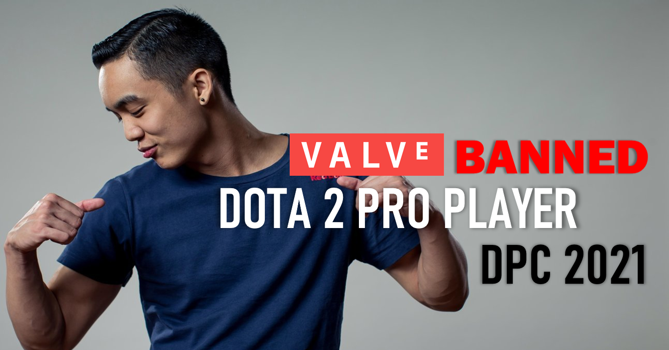 Dota 2 esports player DeMoN banned by Valve, BTS, and DPC 2021