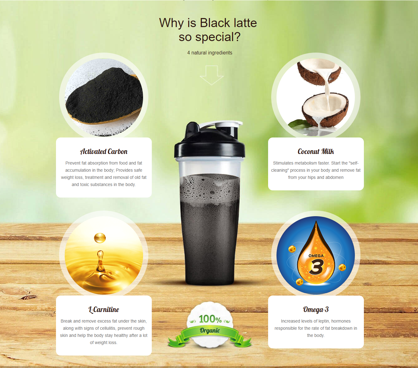 An effective and safe method of weight loss with Black Latte