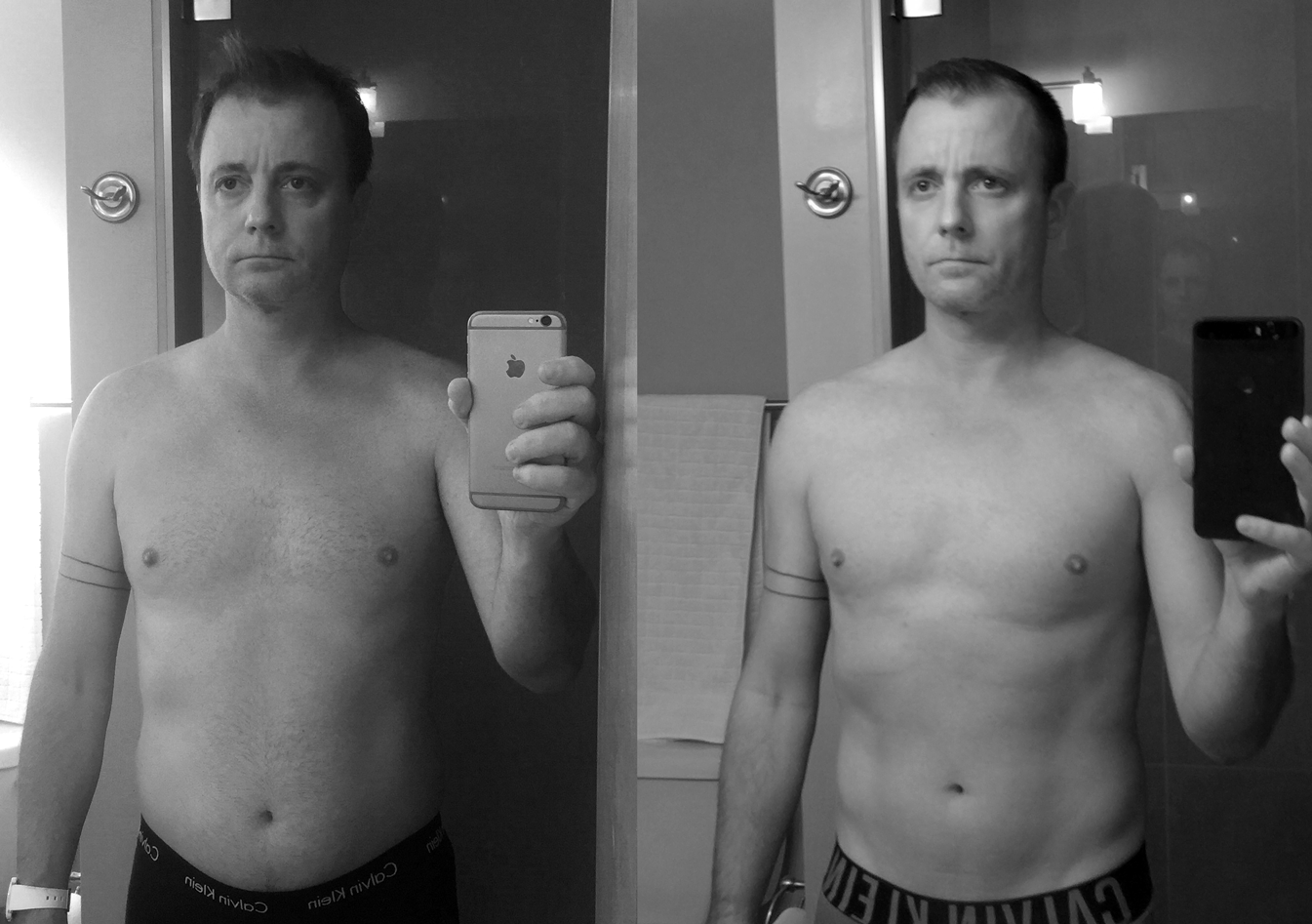 60 Days Of Yoga A Before And After Look At How I So By Geoff Teehan Habits Of Introspection Medium