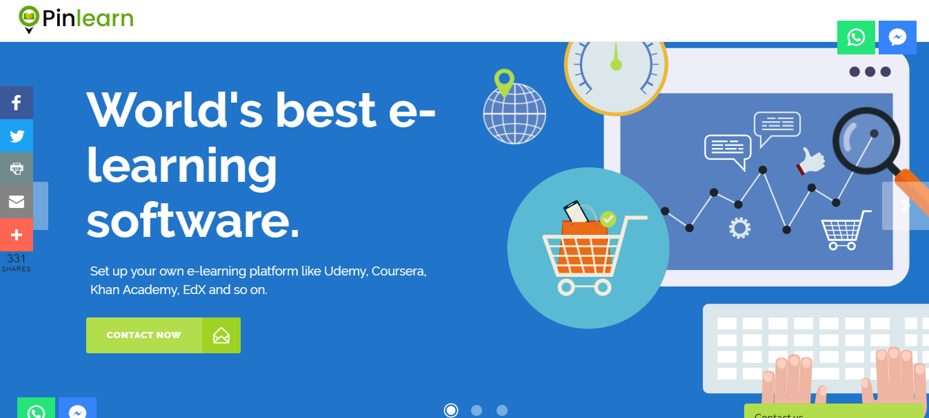 Developing an E-learning platform is easy with these ready
