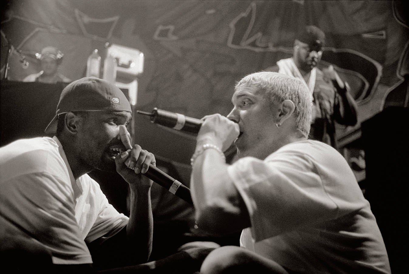 Eminem and Proof 1999.