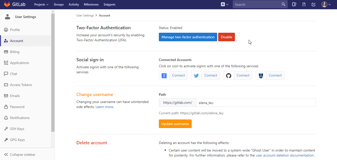 How To Add Two Factor Authentication (2FA) To Your GitLab