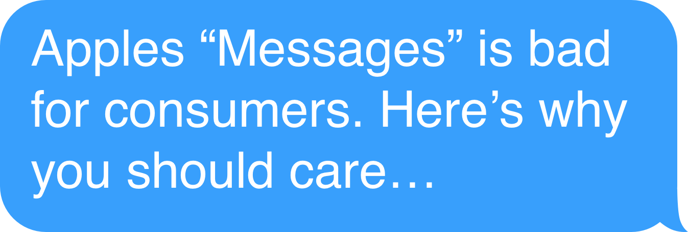 """Apple Is Forcing us all to use """"Messages"""" — Here's why you"""