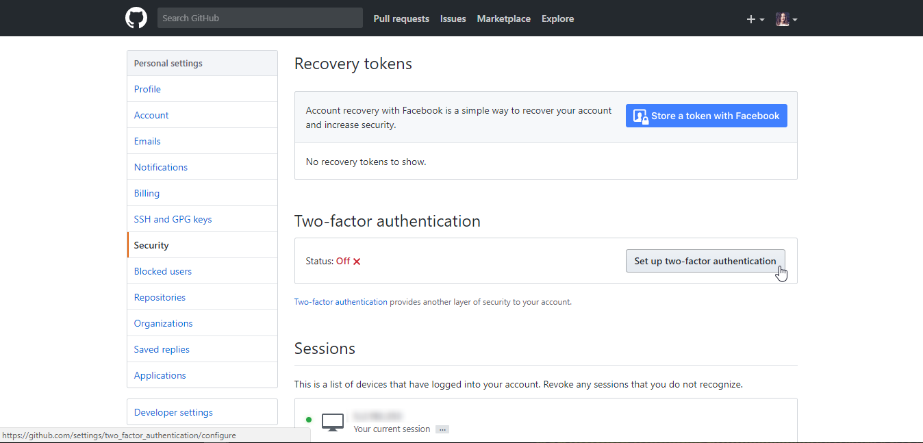 How To Add Two Factor Authentication (2FA) To GitHub