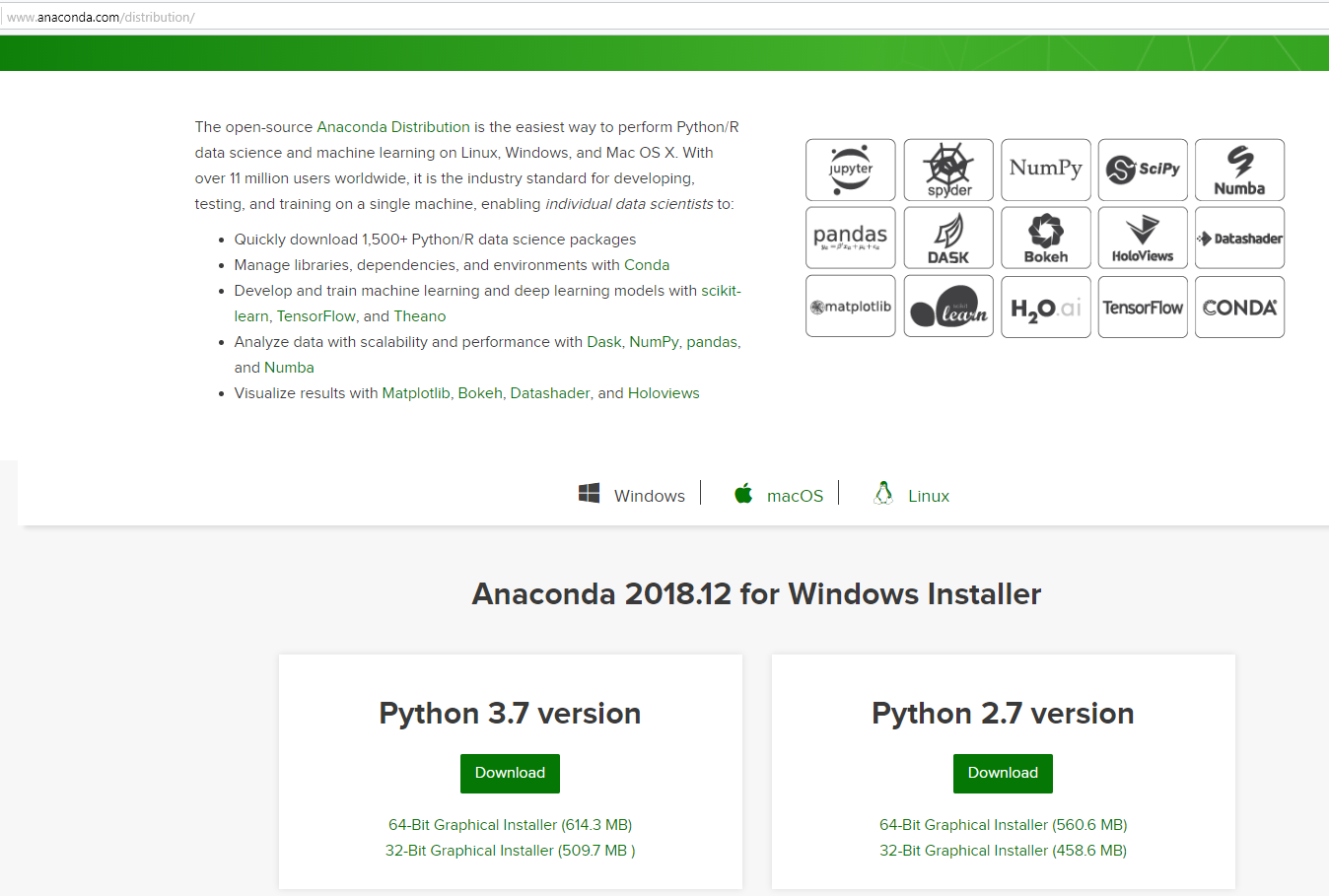 Installing OpenCV for Python on Windows using Anaconda or