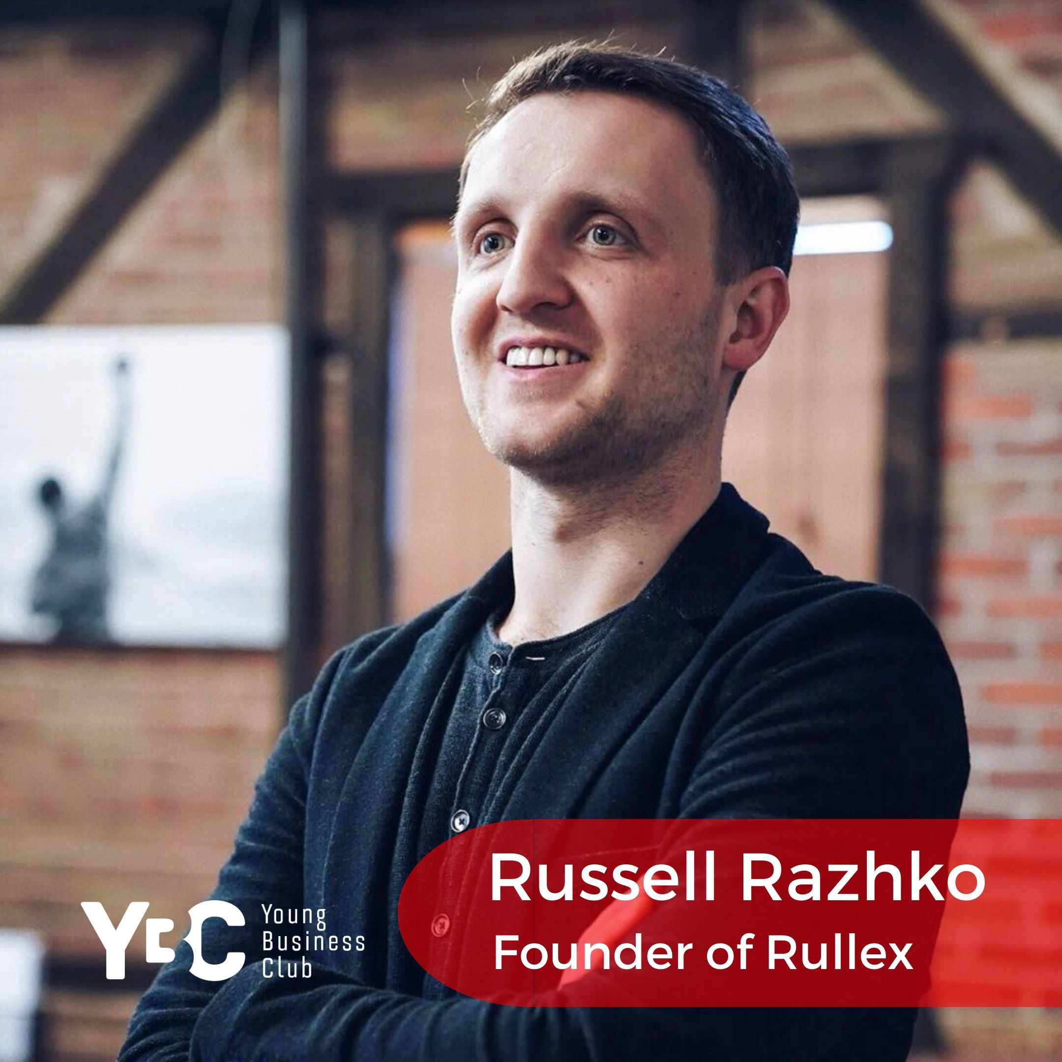 Russel Razhko, co-founder and CEO of telecom company Rullex, member of the Young Business Club New York City