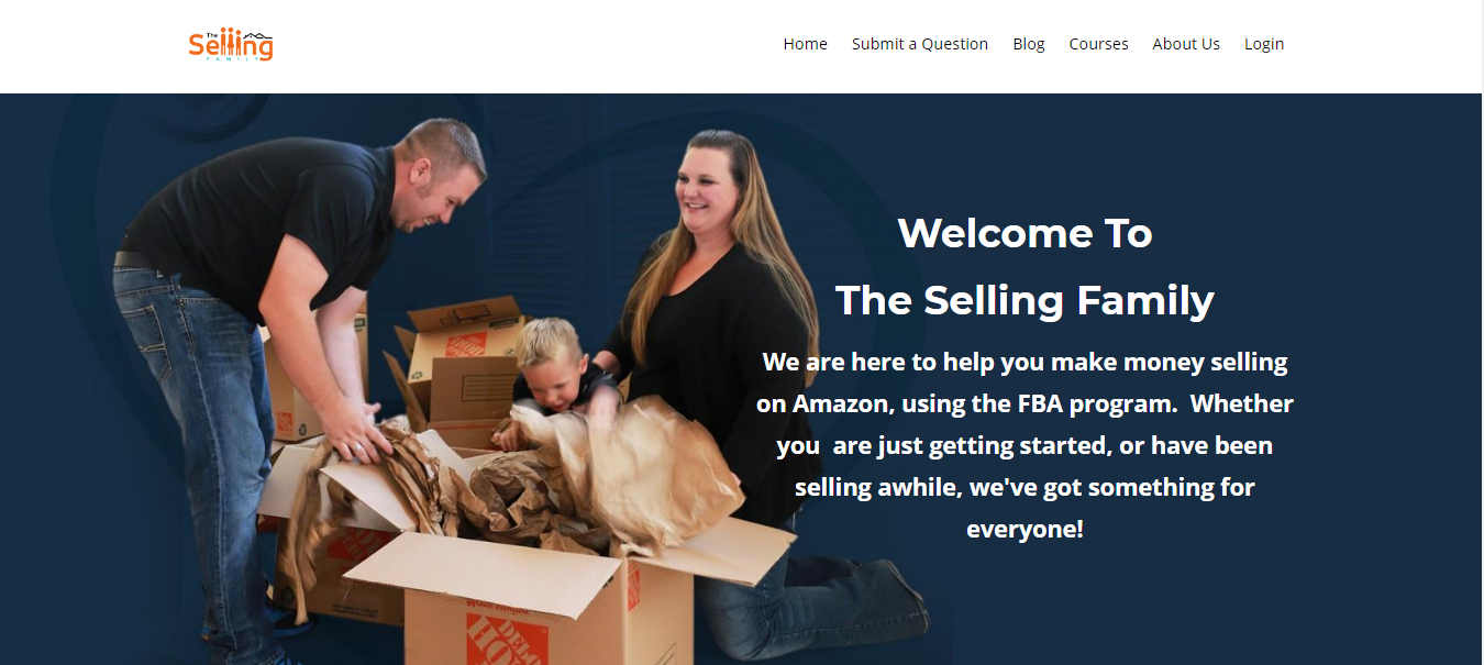 The Selling Family Amazon Bootcamp