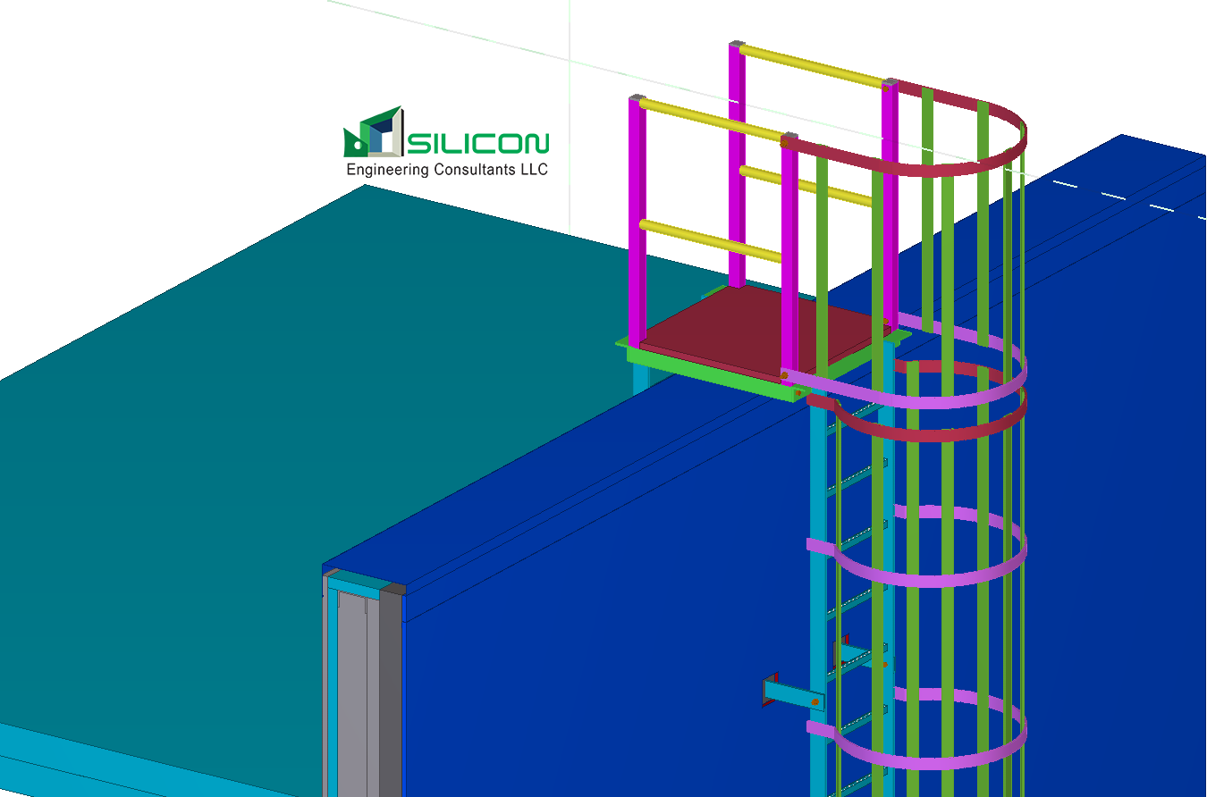 Metal Steel Fabrication Shop Drawing Services USA - Silicon