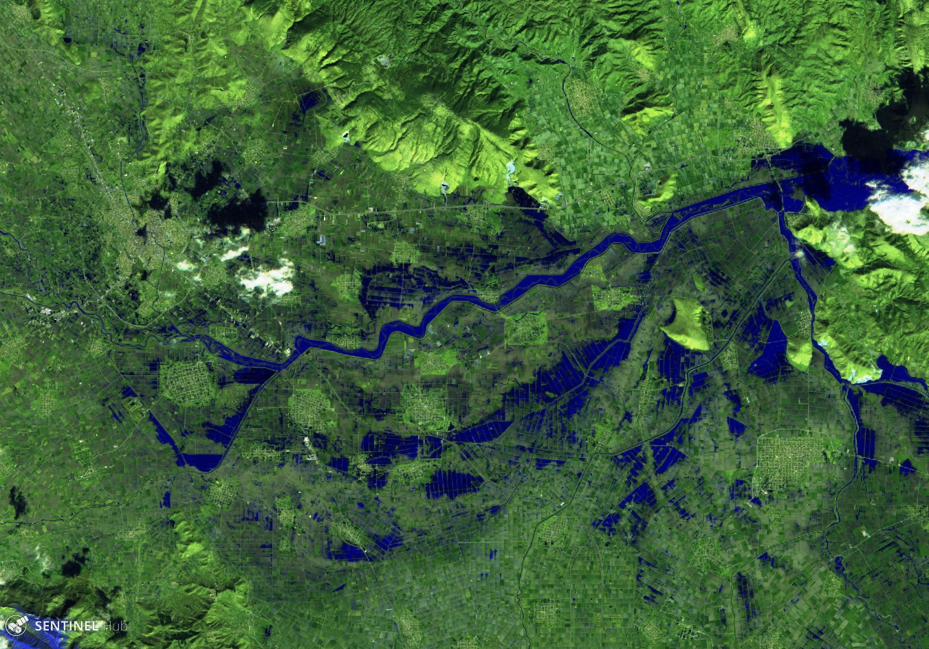 The Use of Satellite Imagery in Crisis Management after Flooding