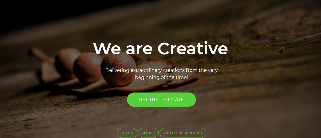 20 Best Free Responsive Html5 Web Templates By Mockplus Muzli Design Inspiration